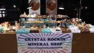 Ethical Crystals Show Table
