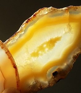 agate slice ethical source natural edge