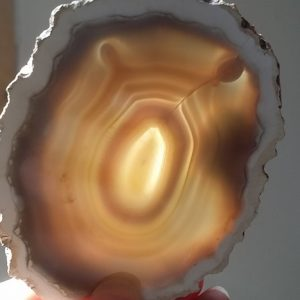 agate slice polished gemstone slab ethical source