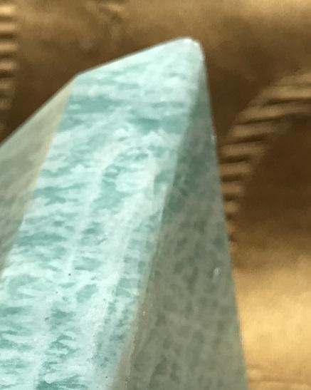 Amazonite pyramid, ethically sourced