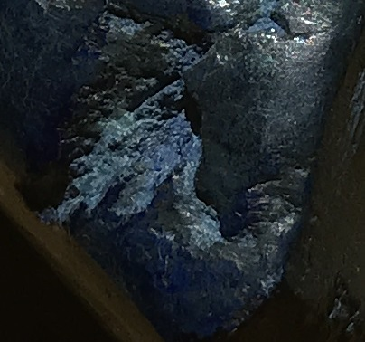polished azurite ethically sourced