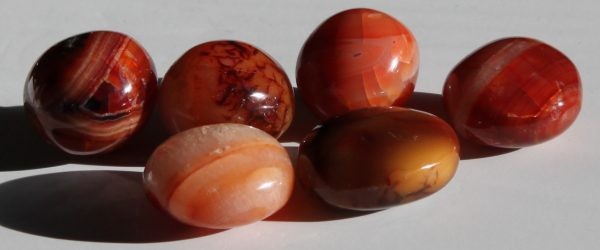 carnelian hand polished gallets ethical source