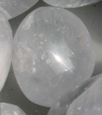 Celestite polished stones ethically sourced