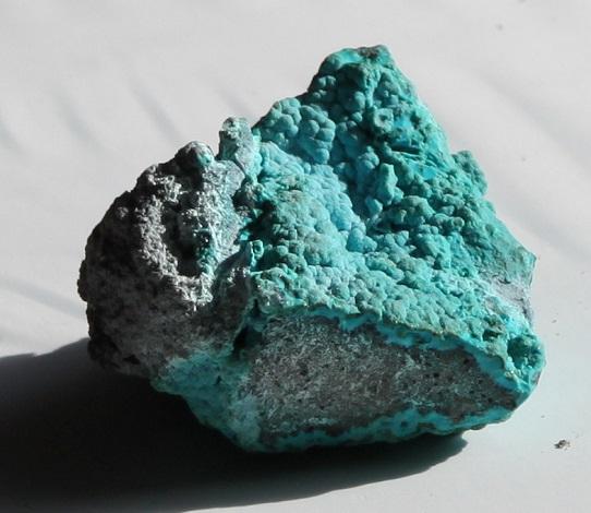 Chrysocolla mineral specimen