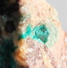 Dioptase raw in matrix ethical source