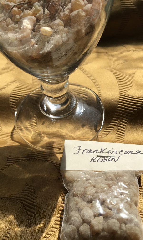 resin incense frankincense
