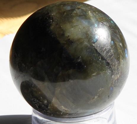 Labradorite feldspar sphere