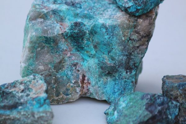shattuckite chrysocolla rough ethically sourced