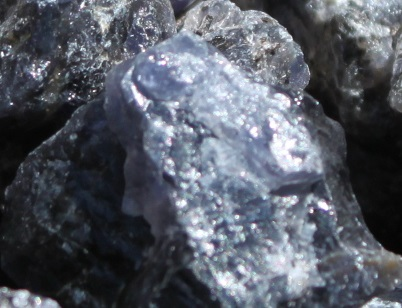 Iolite rough ethically sourced