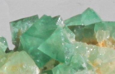 Fluorite octahedron specimen cluster Riemvasmaak ethical source