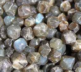 labradorite faceted mini stones ethical source
