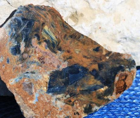 Namibia pietersite slab ethically sourced